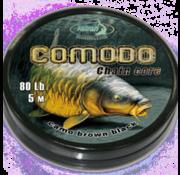 Katran Fishing Chain core COMODO camo brown black 80 lb   5 m