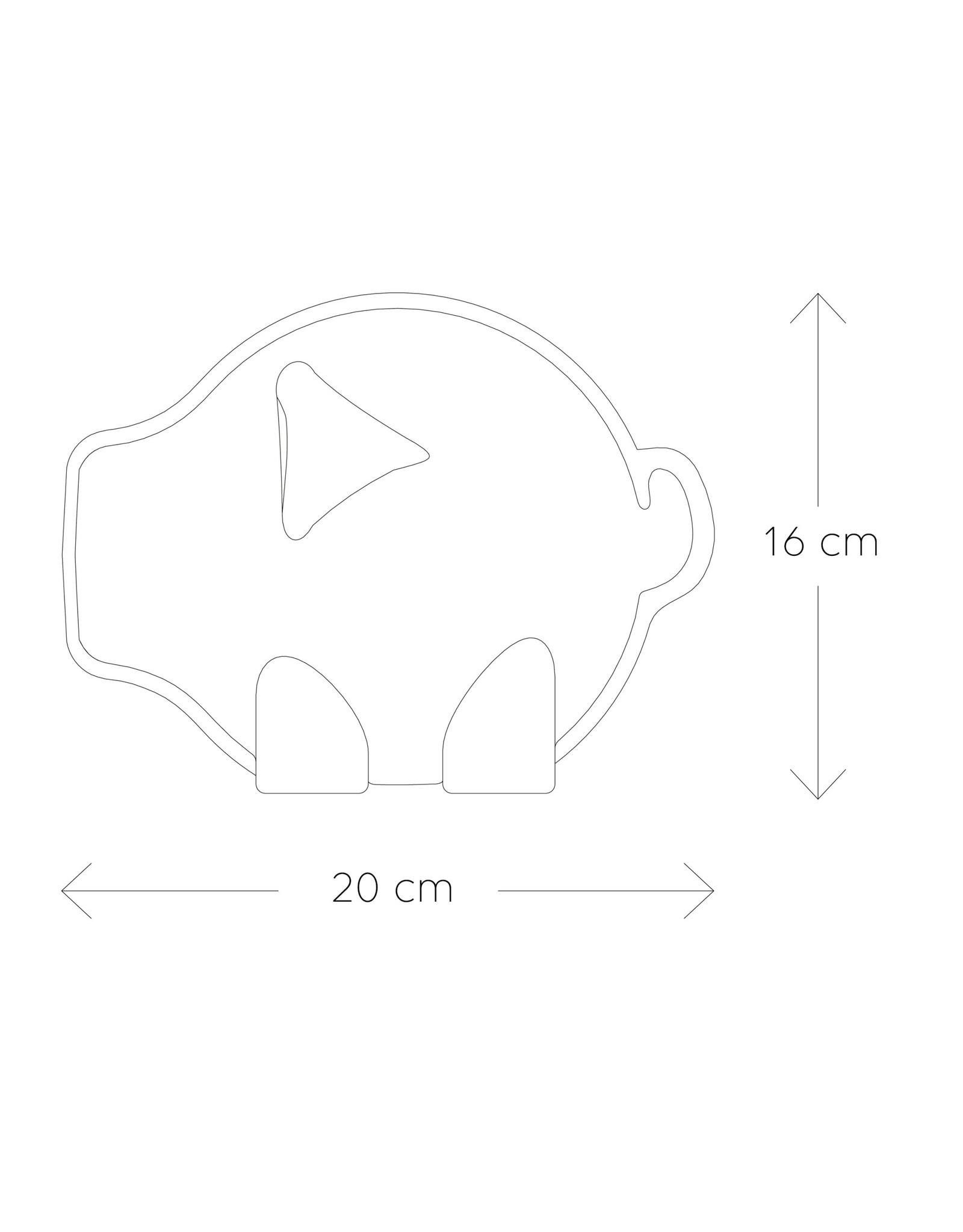 PUIK design PUIK - Tammy spaarvarken