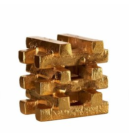 Pols Potten Pols Potten - Kaarsenhouder Gold Bars