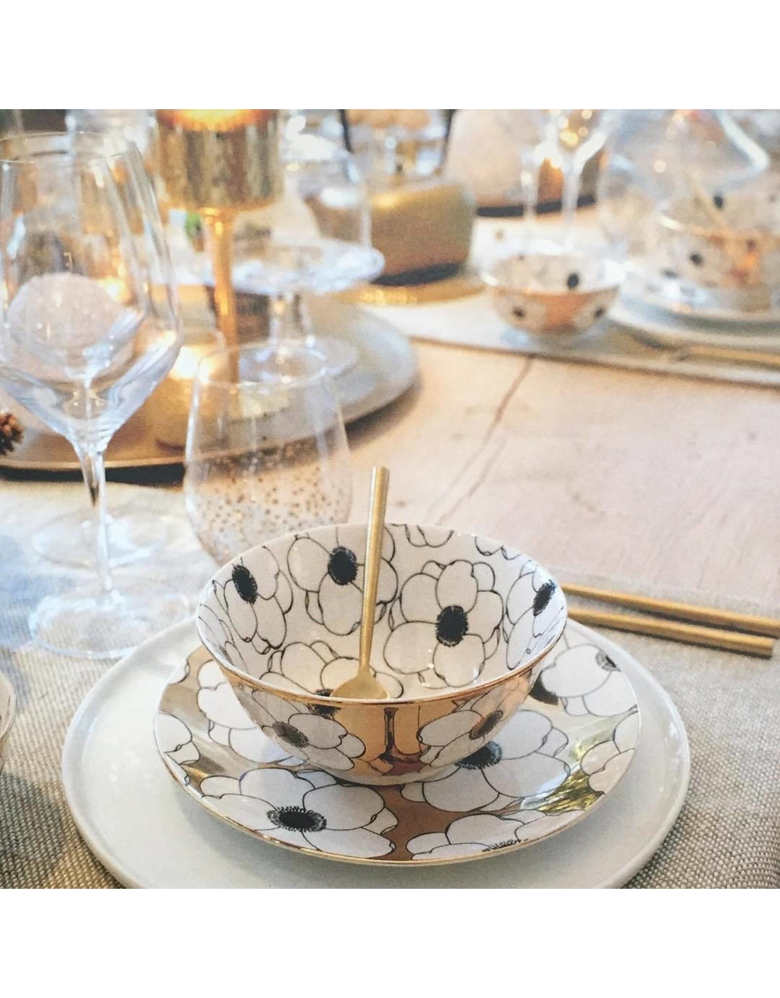 Pomax POMAX - Palace Bouquet Bord porselein