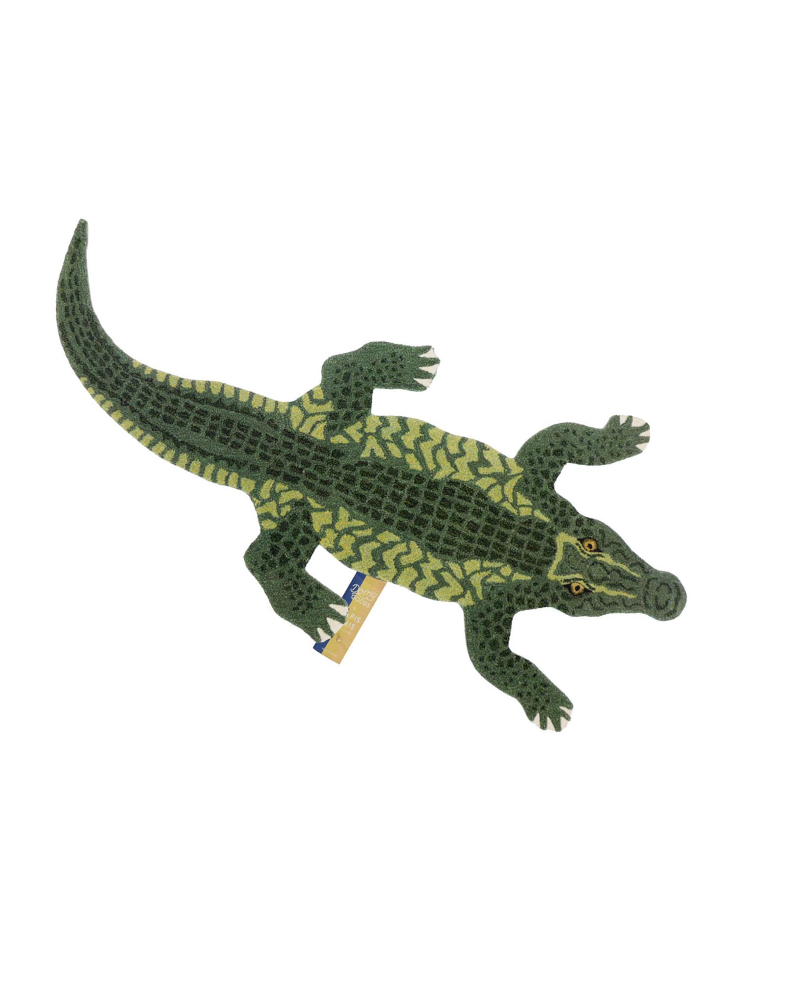 Doing Goods Doing Goods - Coolio Crocodile Rug L