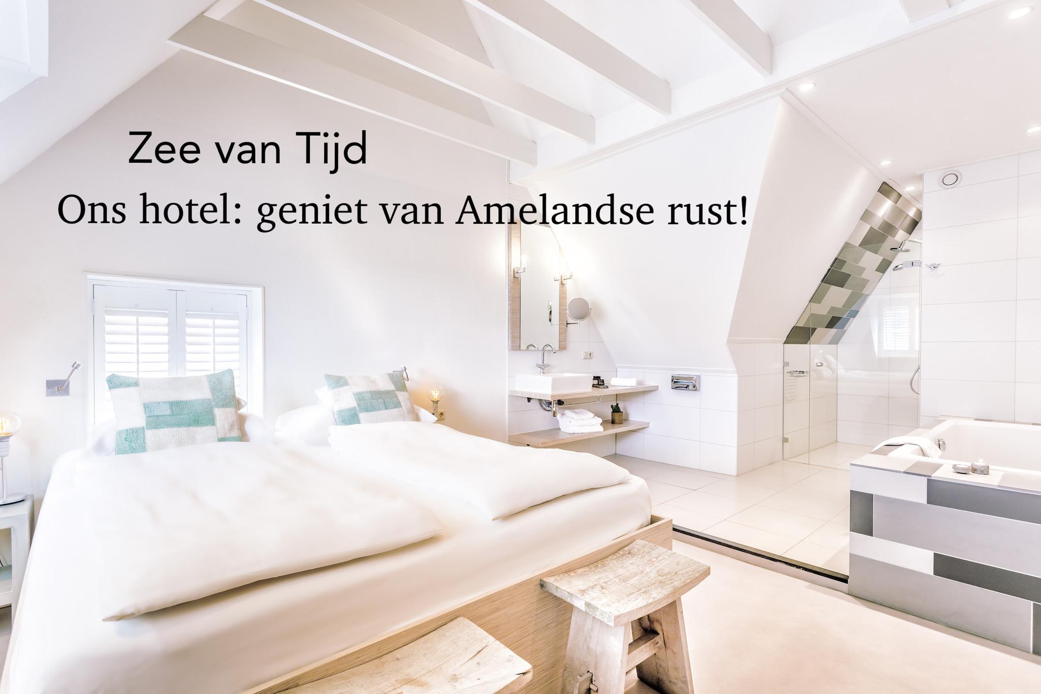 Lekker uitwaaien op Ameland in ons hotel!