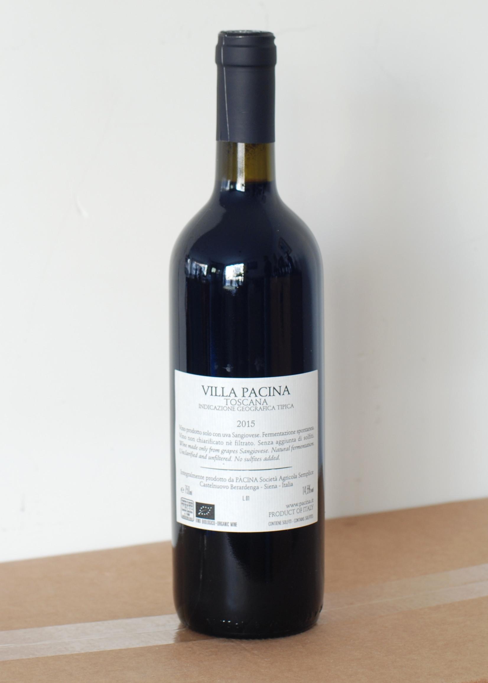 Pacina Pacina - Villa Pacina 2015