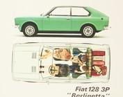 128 Sedan - Coupe - 3P