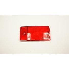 Achterlichtglas rechts rood