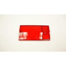 Achterlichtglas links rood