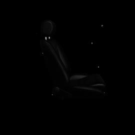 BF-Torino Lemans Echtleder sitzflache cord schwarz