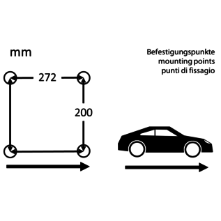 BF-Torino BF stoel Nurburgring skai - ribcord