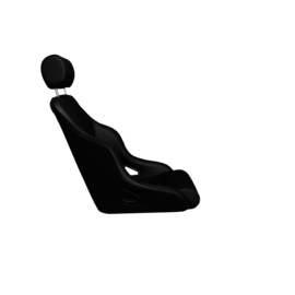 BF-Torino Stoel Rally ST leer zwart