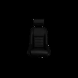BF-Torino BF stoel silverstone leer zwart
