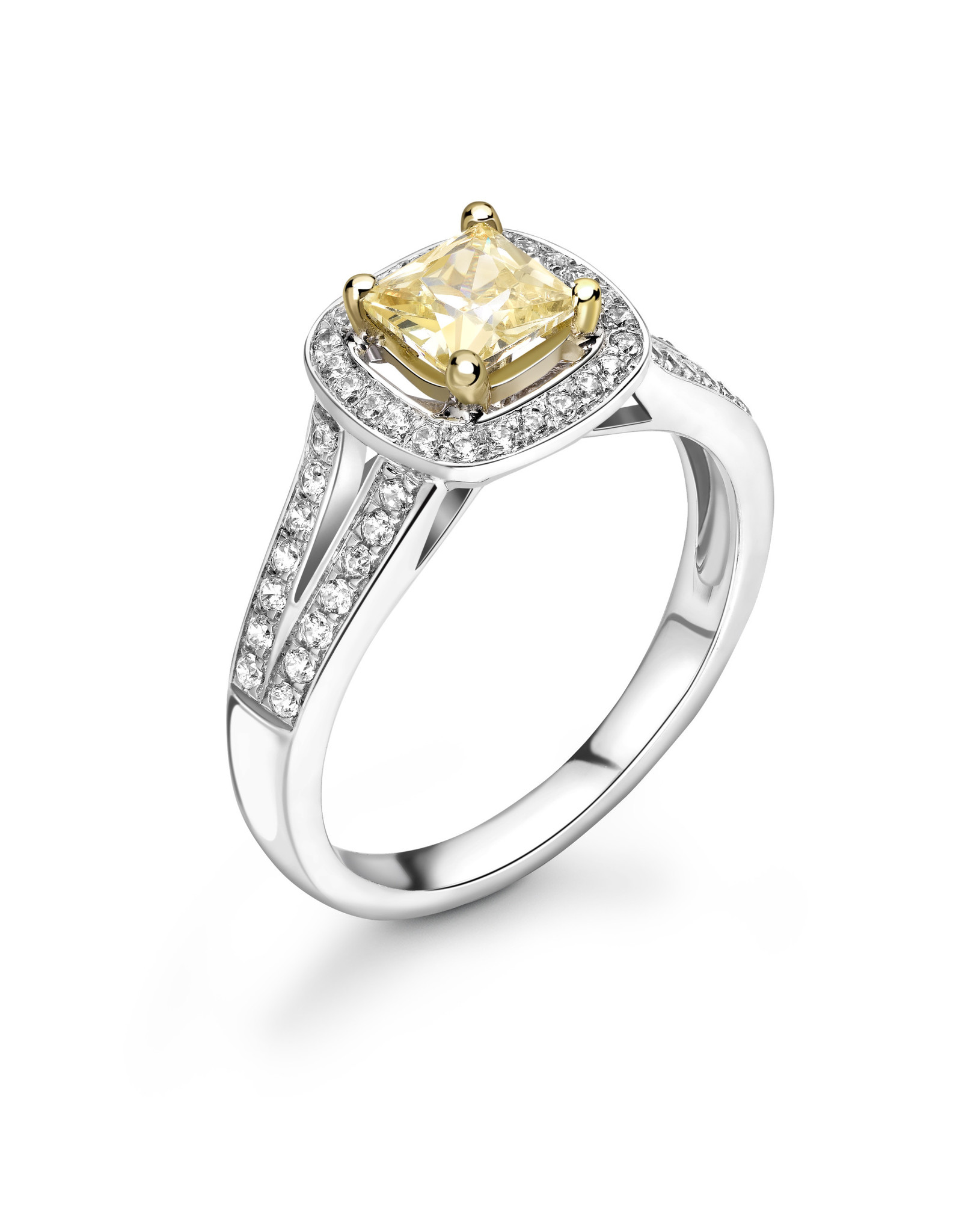 LVN Cushion Cut Exclusive Verlovingsring LVNRX5346