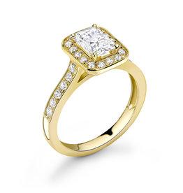 LVN Emerald Cut Exclusive Verlovingsring LVNRX4397