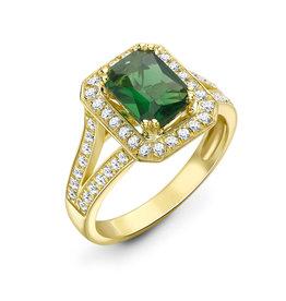 LVN Emerald Cut Exclusive Verlovingsring LVNRX3886