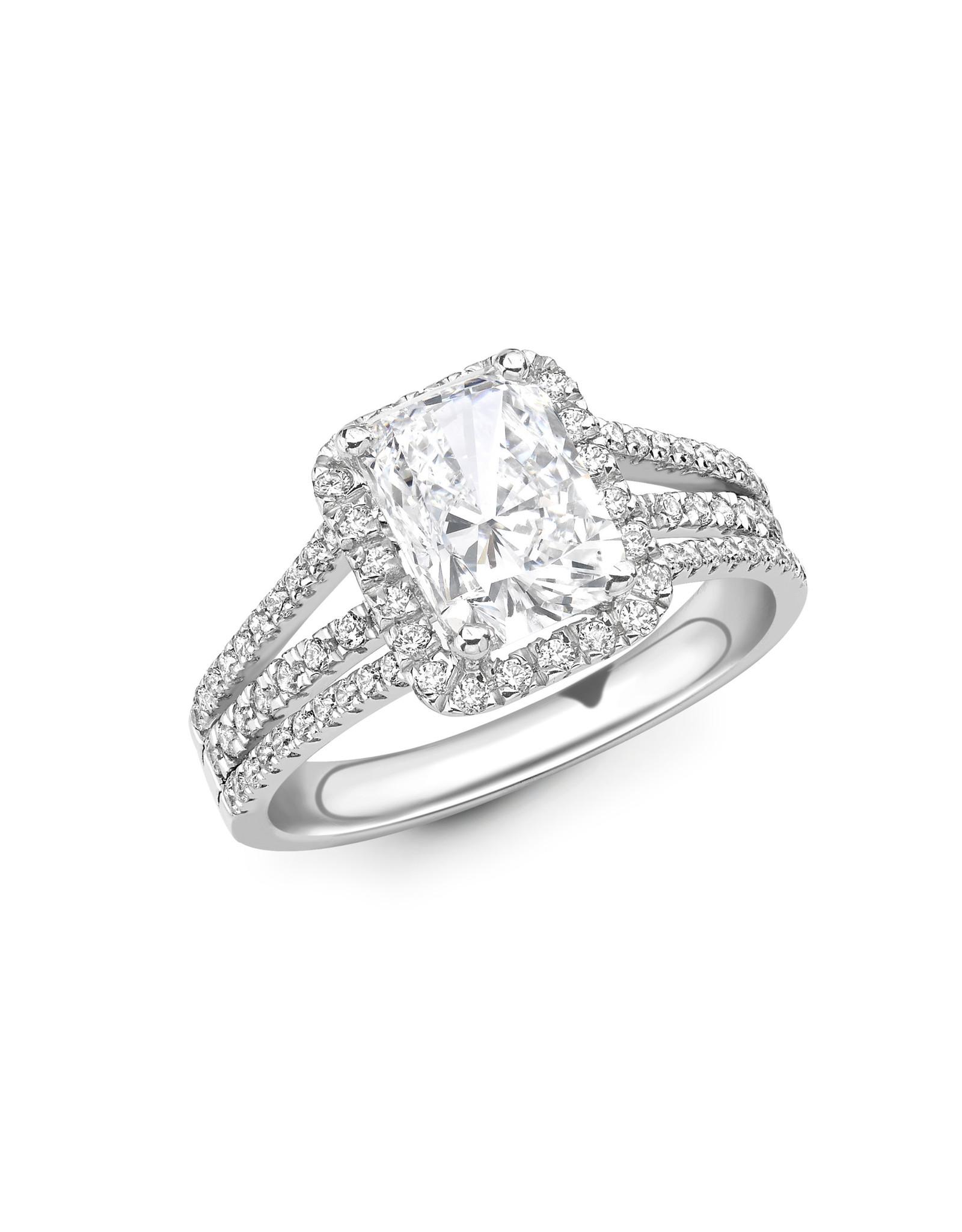 LVN Emerald Cut Exclusive Verlovingsring LVNRX6903