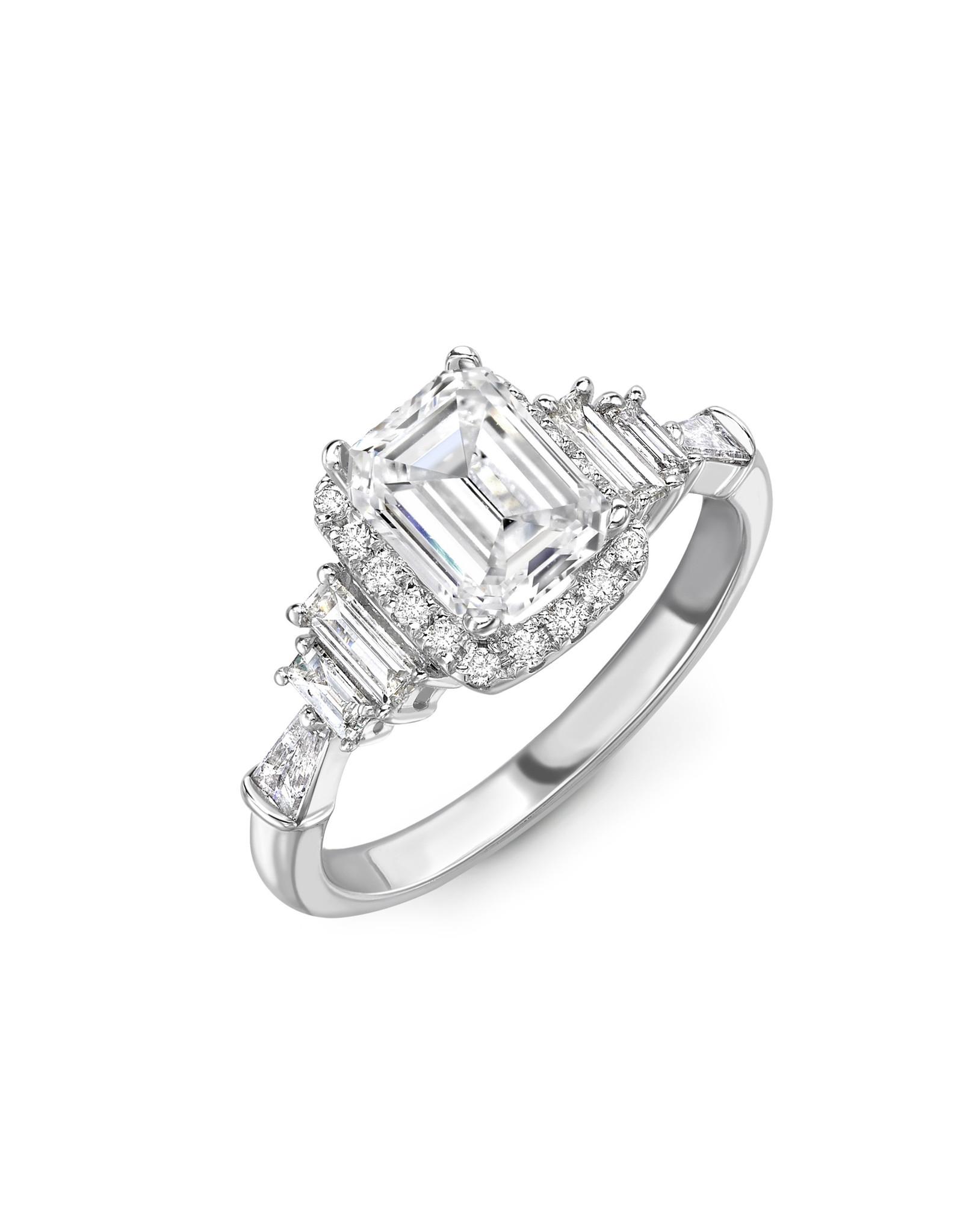 LVN Emerald Cut Exclusive Verlovingsring LVNRX4717