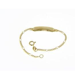 Geboorte Armband Figaro GG