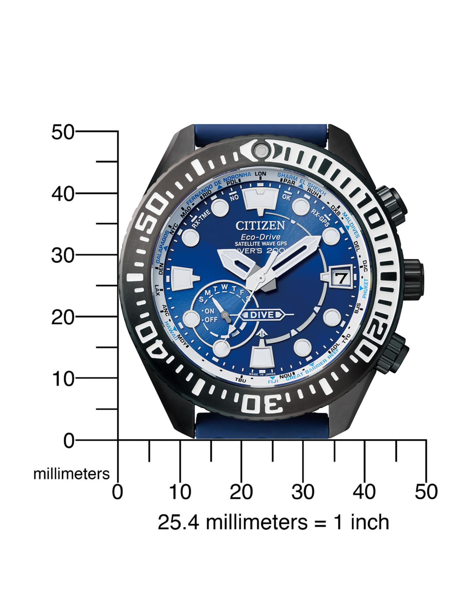 Citizen Citizen Satellite Wave GPS Diver's 200m CC5006-06L