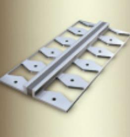 kuberit kuberit 300s Uitzettingsvoegprofiel, met scheurvaste sileconen voeg in grijs