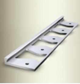 kuberit Kuberit 299 G Gesloten gestanst voor rechte installatie Prijs per lengte 250cm