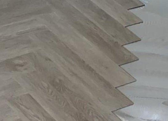 Dryback / verlijmde vloer
