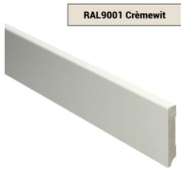 MDF Moderne plint Voorgelakt Ral 9001 Créme Wit
