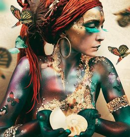 Cobra Art Cobra Art Photo Art On Plexiglas - Woman with butterflies GN 8103