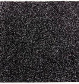 clean walk Droogloopmat 200cm breed zwart gedessineerd kleur 635