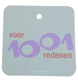 Voor 1001 redenen