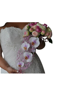Bruidsboeket druppelvorm