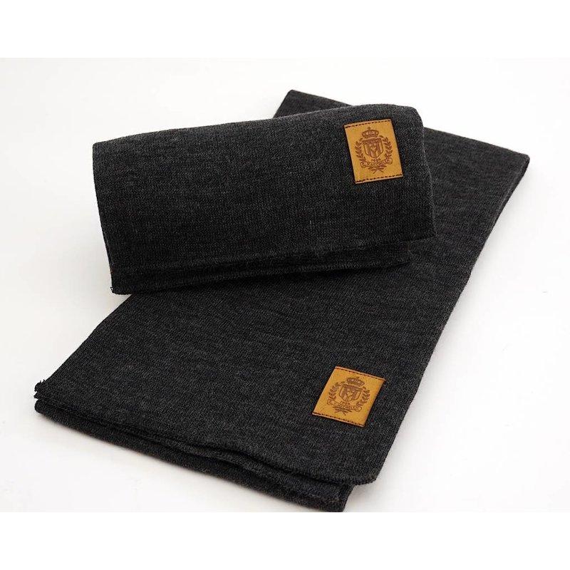 Topfanz Business scarf - dark gray