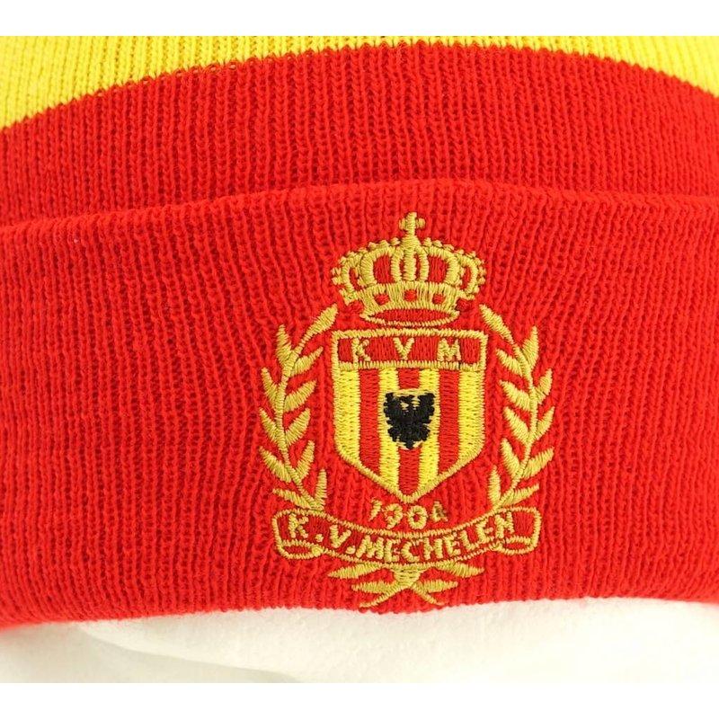 Topfanz Bonnet stripes - KV Mechelen