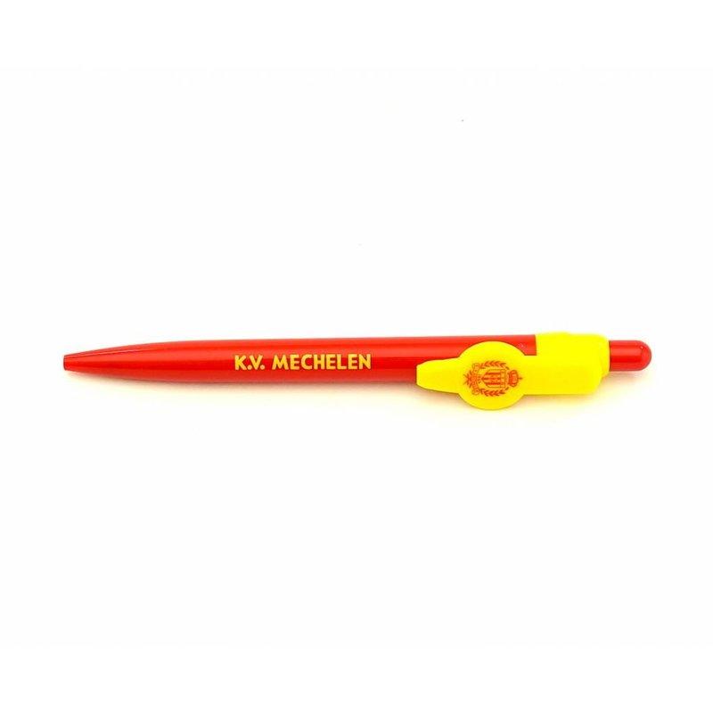 Topfanz Red and yellow pen KV Mechelen