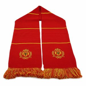 Block scarf  red - KV Mechelen