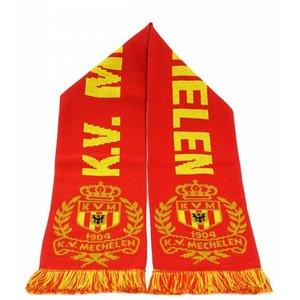 Scarf jacquard red - KV Mechelen