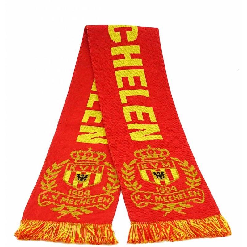 Topfanz Scarf jacquard red - KV Mechelen