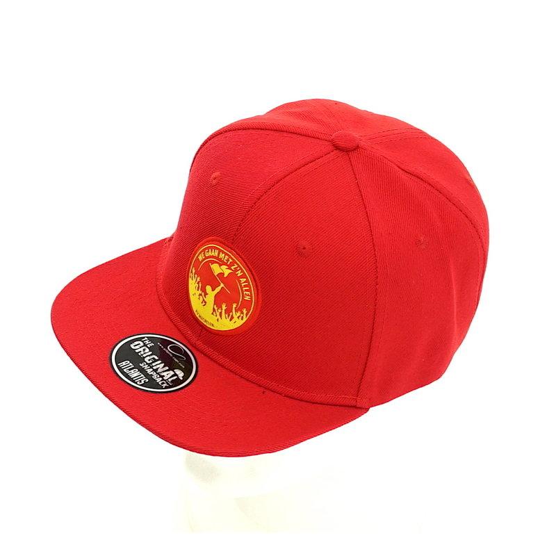 Topfanz Red cap We gaan met z'n allen