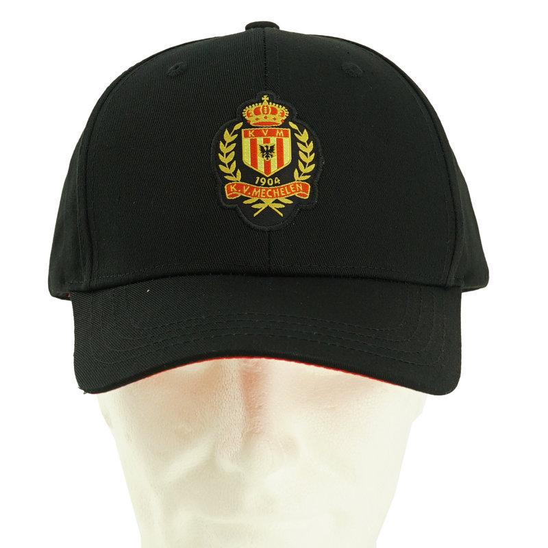 Topfanz Pet zwart en rood - logo