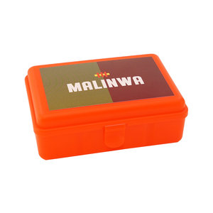 Lunch box red Malinwa industrial