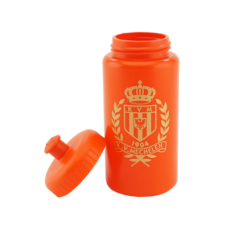 Topfanz Bidon rood logo goud - WKV