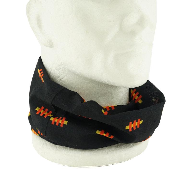 Topfanz Multisjaal zwart met hekje logo - KVM