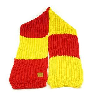 Echarpe retro tricoté
