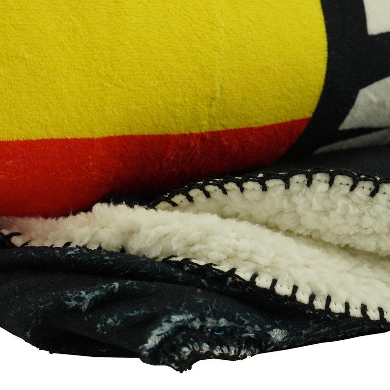 Topfanz  Fleece winter Malinwa schield logo