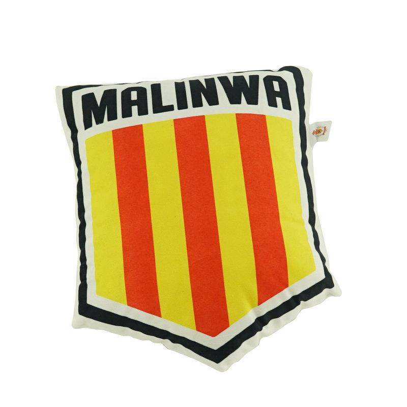 Topfanz Kussen 3D schild logo Malinwa