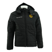 Jartazi Coach Jacket With Zipp Off Hoodie noir