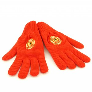 Gloves red - L