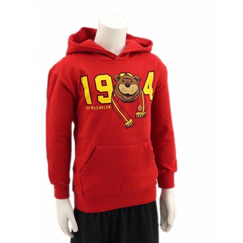 Topfanz Coloured bear hoodie KV Mechelen