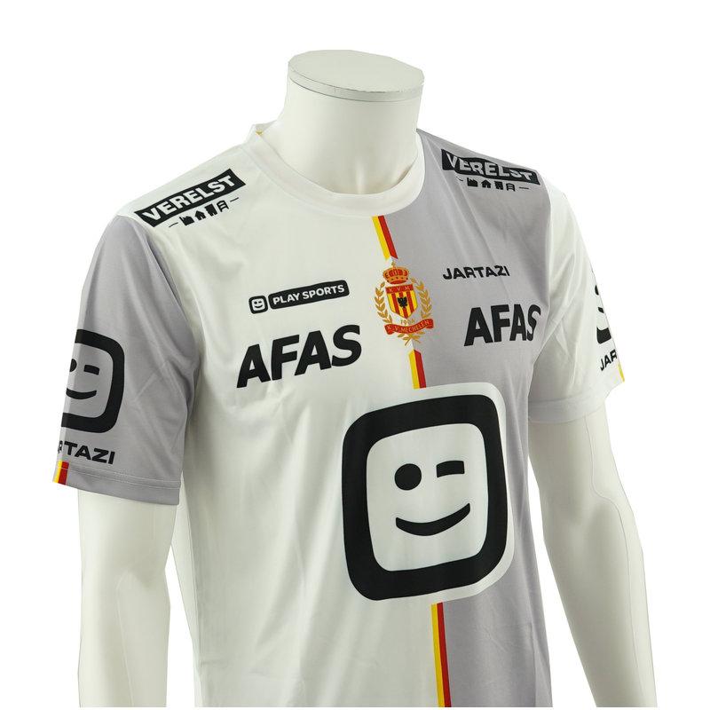 Jartazi KV Mechelen Shirt Away - Blanc  - 2019/2020