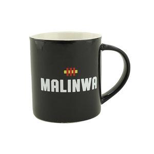 Mok zwart MALINWA - KVM