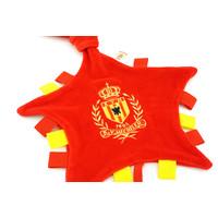 Topfanz Tutteldoekje rood-geel logo geborduurd - KVM