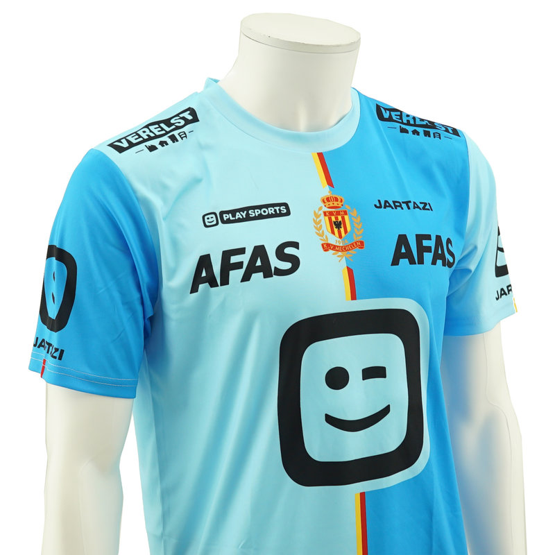 Jartazi KV Mechelen Shirt Kids - Blue 2019/2020